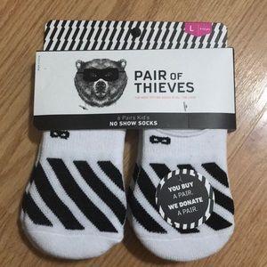 6 pr no show socks Pair Of Thieves youth